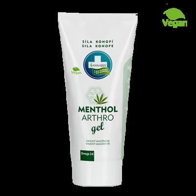 Annabis Arthro Menthol konopný gel na masáž