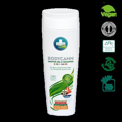 Annabis Bodycann přírodní šampon pro děti